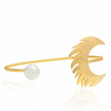 Fly Me To The Moon Cuff