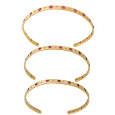 Bar Ruby Bangle