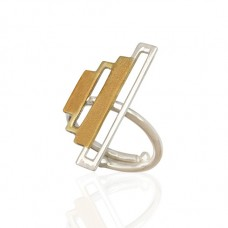 Beam Ring / Two Tone